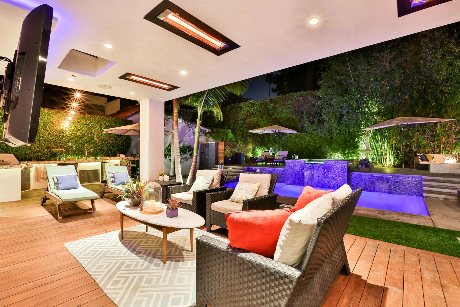 luxury vacation rentals West Hollywood CA