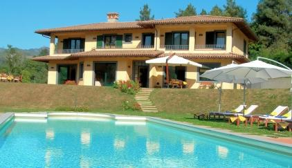Villa Carla Is Based In The Countryside With Spectacular Mountain Views And  Within Walking Distance (800 Metres) Of The Vibrant Market Town Of  Castelnuovo ...