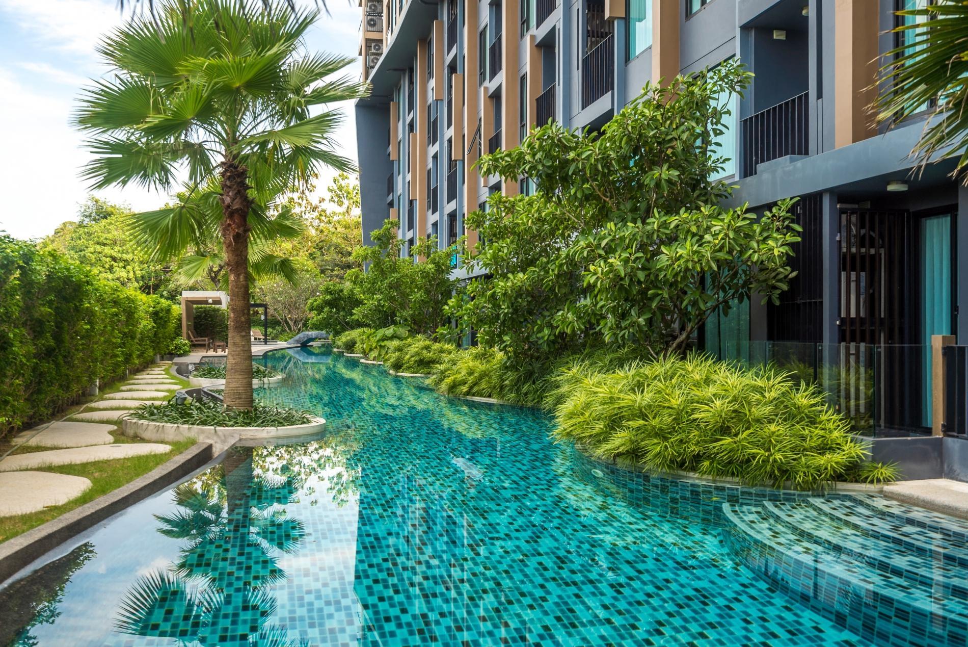 Apartment Aristo 216 - Pool access duplex in Surin condo for 4 people photo 20388820