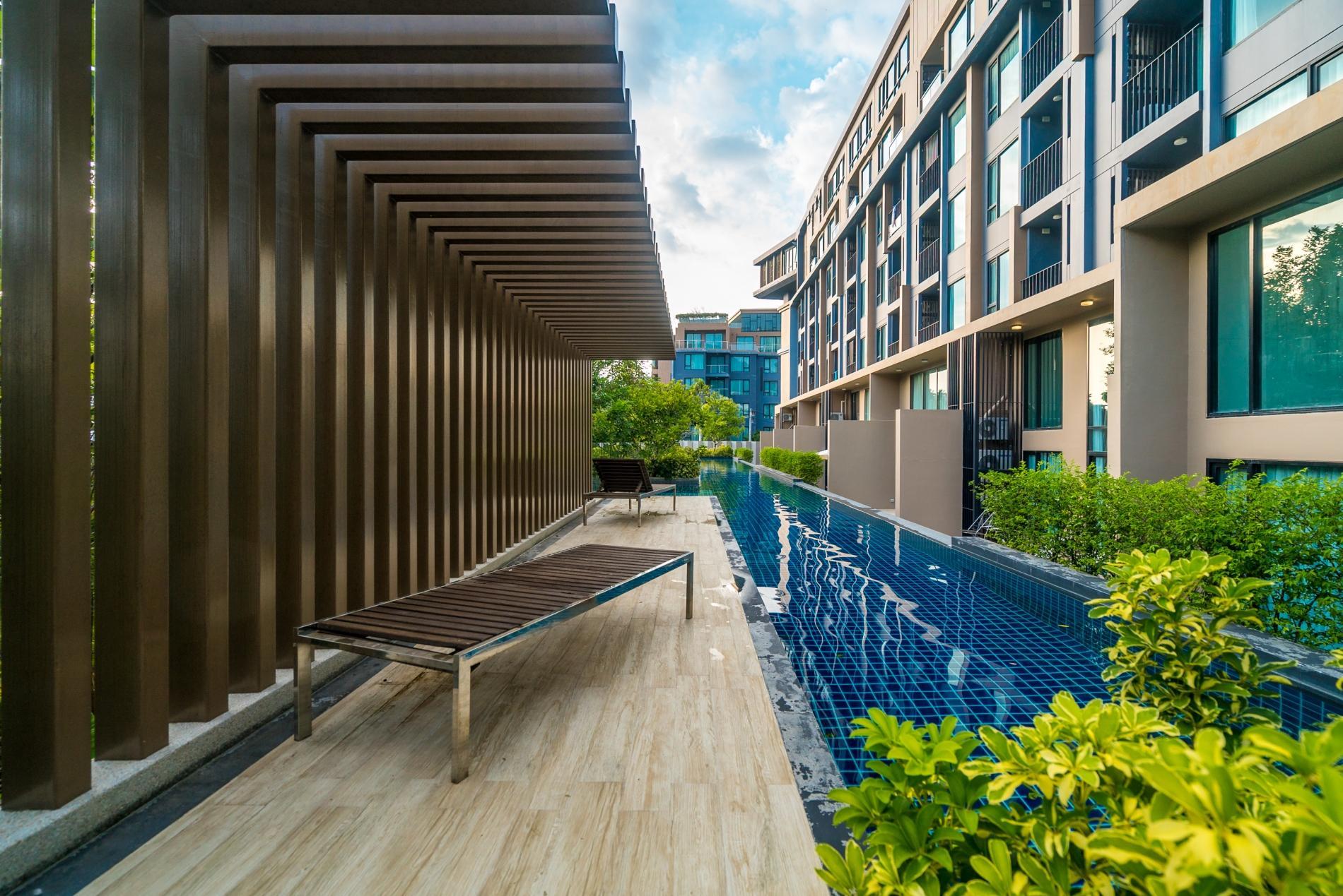 Apartment Aristo 216 - Pool access duplex in Surin condo for 4 people photo 20388844