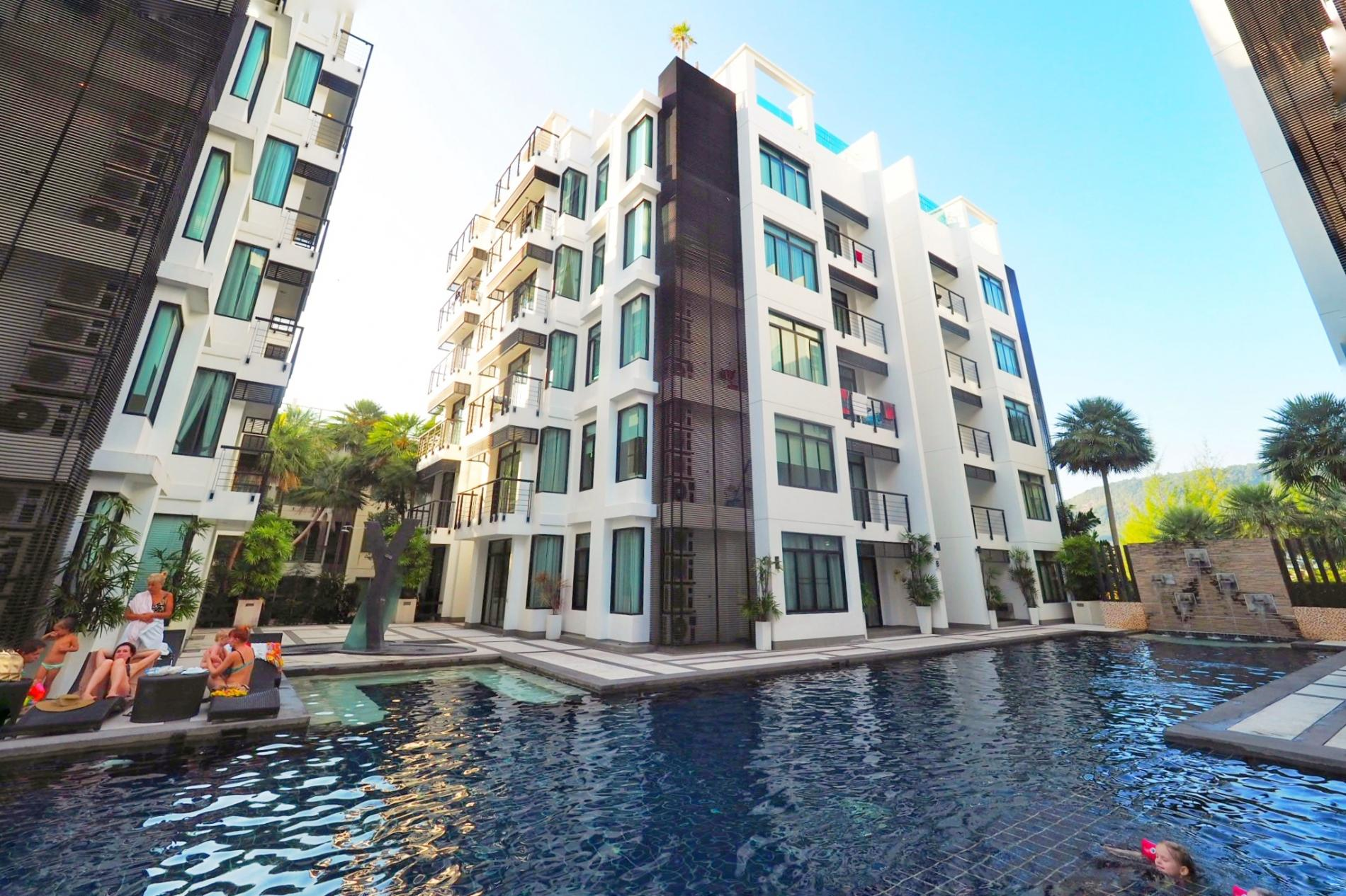 Apartment Kamala Regent D202 - Modern apartment with pool and gym  walk to beach photo 18567054