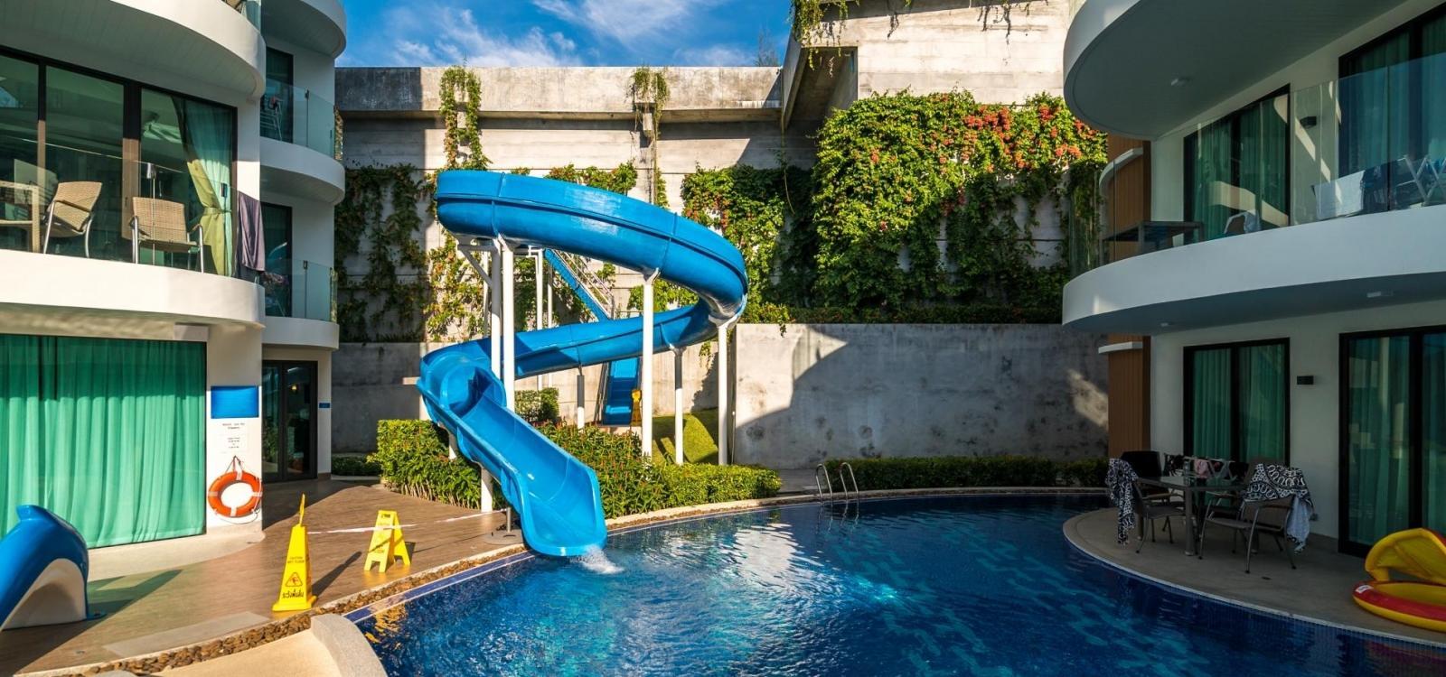 Twin Sands 1406 - Panoramic seaview apartment near Tri Trang beach, shared pool