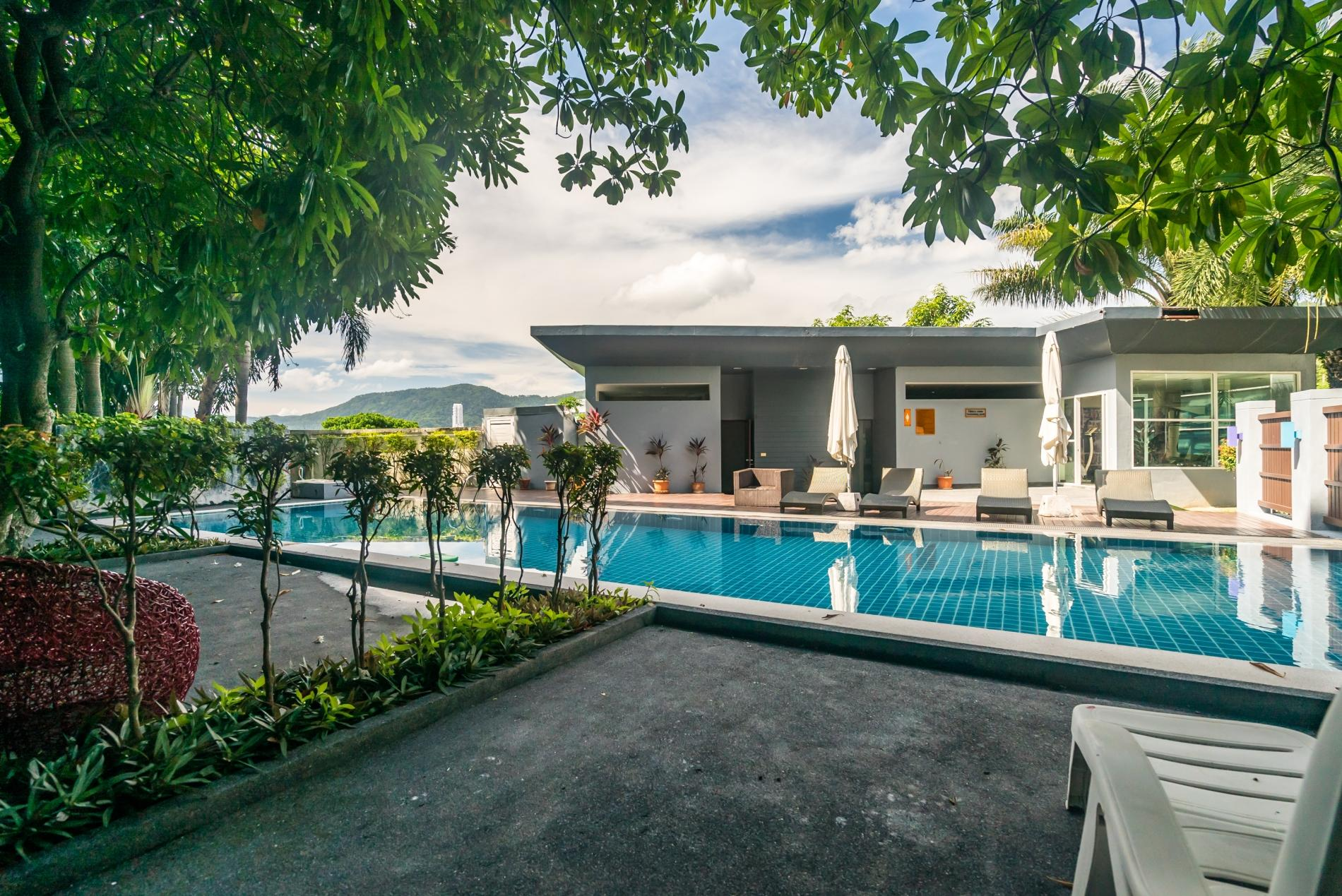 Apartment Pool access studio  rooftop pool and gym in Patong Kris condotel photo 18645566