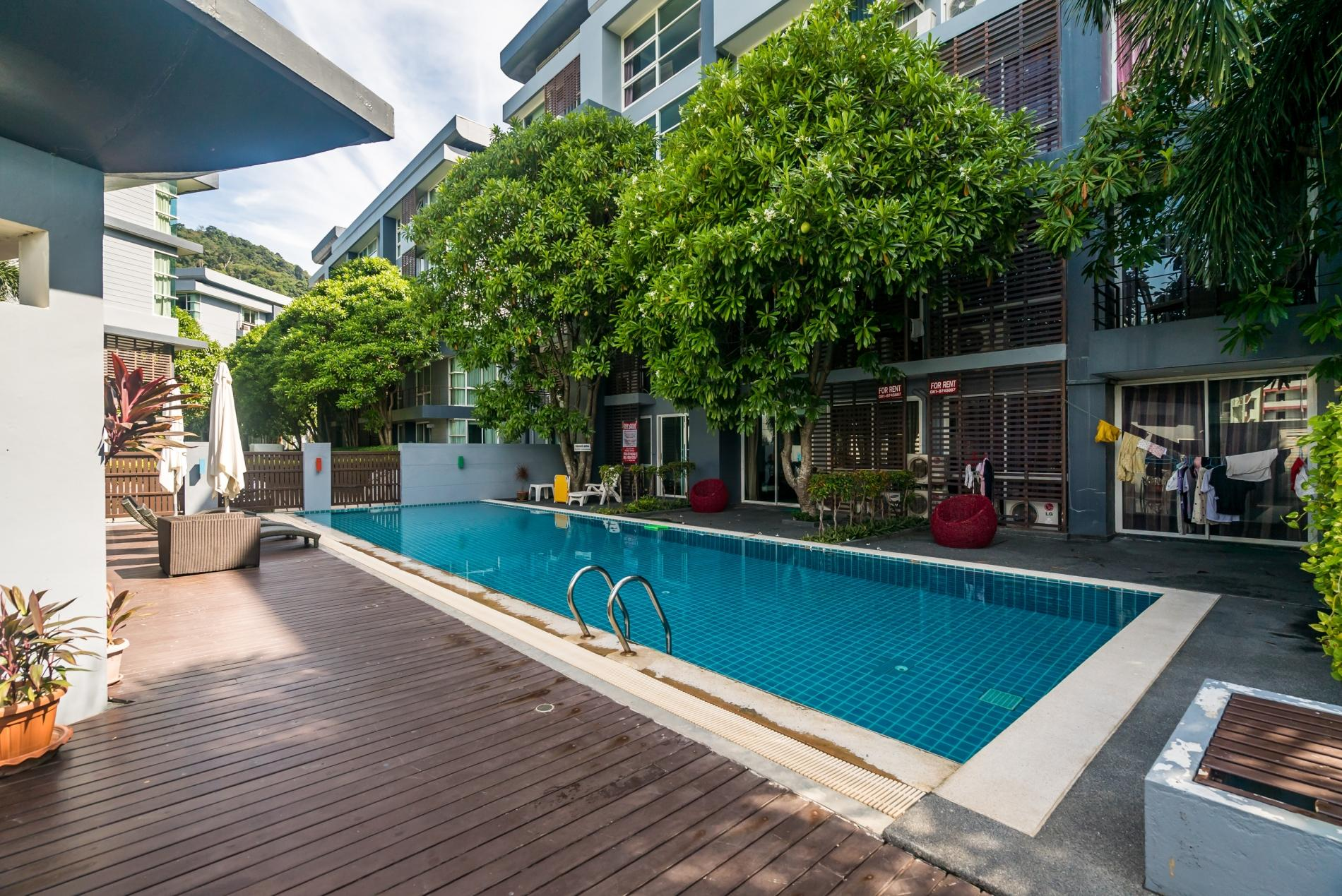 Apartment Pool access studio  rooftop pool and gym in Patong Kris condotel photo 18442917