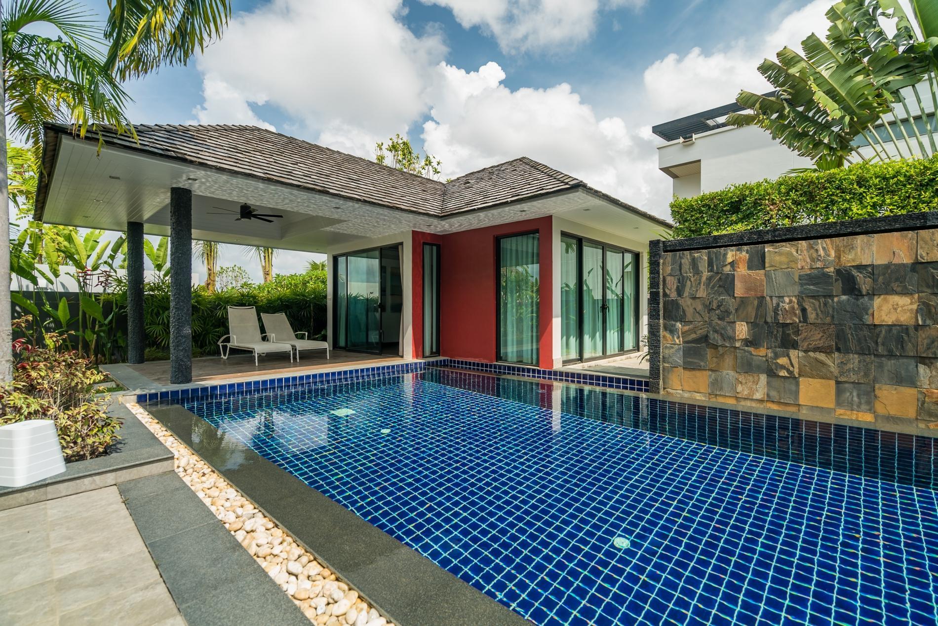 Diamond 272 - Modern 4 br private pool and garden villa