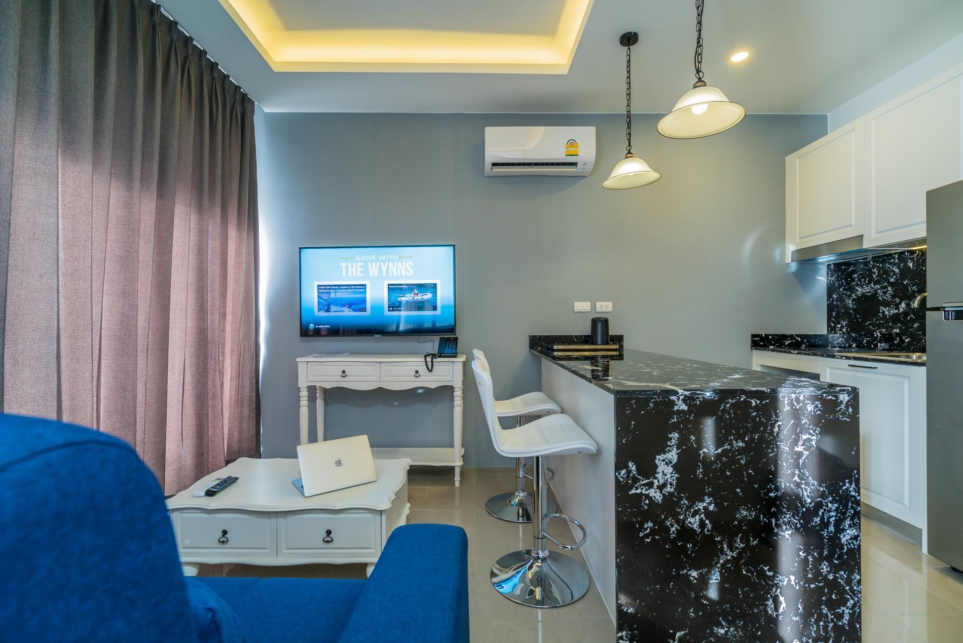 Apartment Palmyrah Surin - 300 meters to the beach    Brand new luxury condo A406 photo 17081789