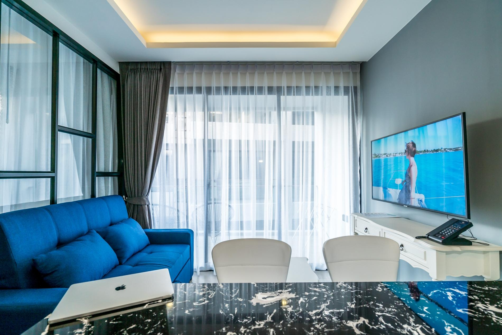 Apartment Palmyrah Surin - 300 meters to the beach    Brand new luxury condo A406 photo 17052687