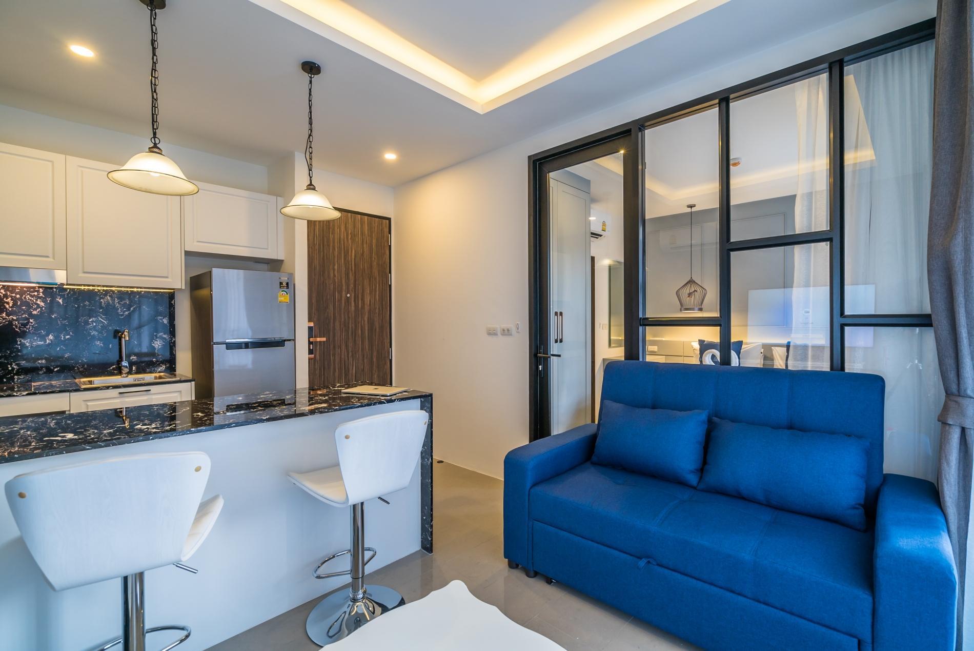 Apartment Palmyrah Surin - 300 meters to the beach    Brand new luxury condo A406 photo 17077072