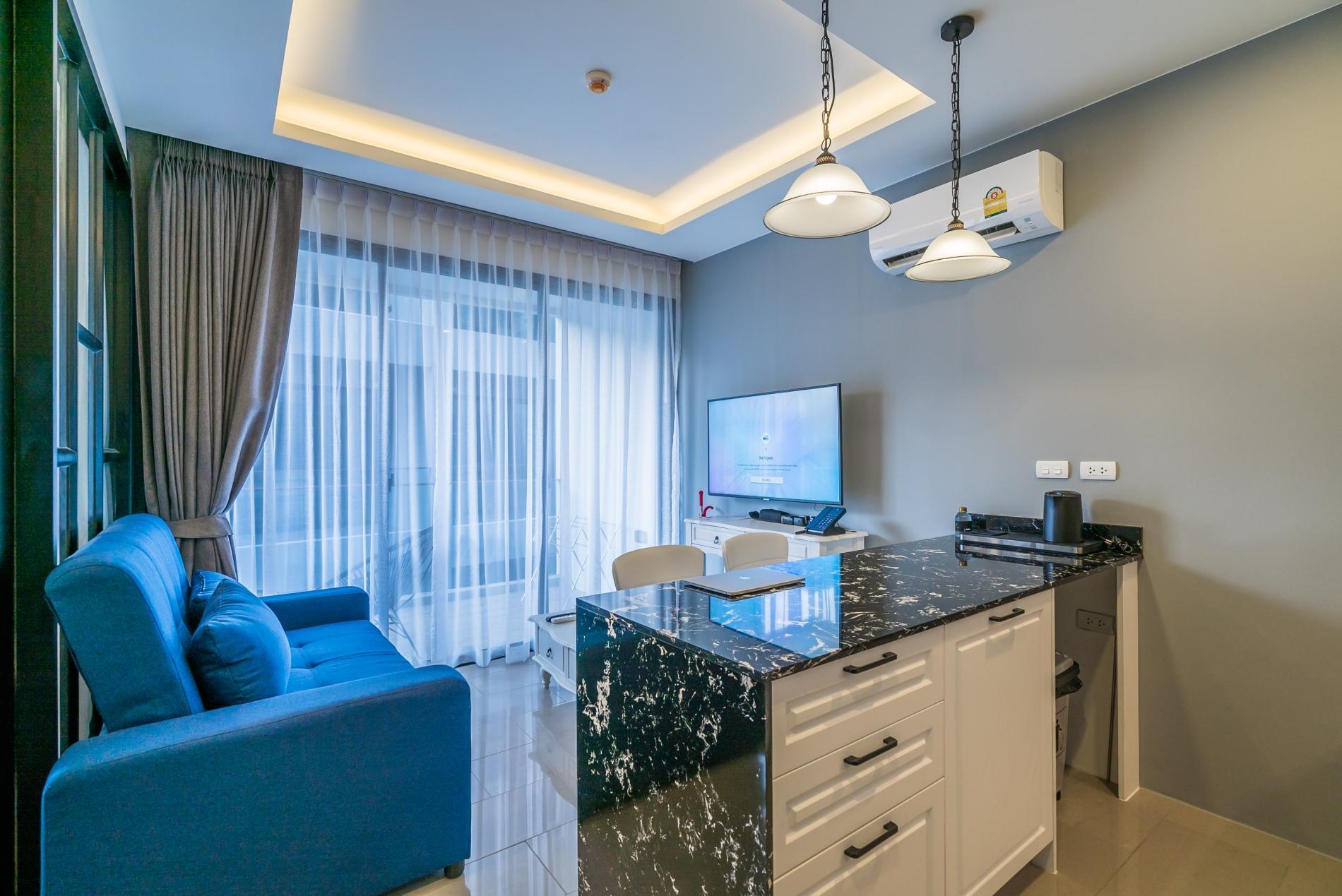 Palmyrah Surin - 300 meters to the beach!!! Brand new luxury condo A406 photo 17052679