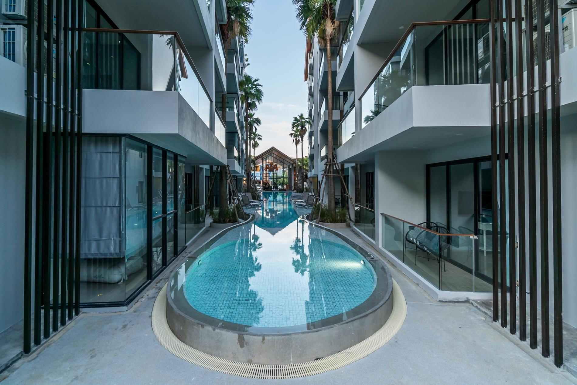Apartment Palmyrah Surin - 300 meters to the beach    Brand new luxury condo A406 photo 17052693