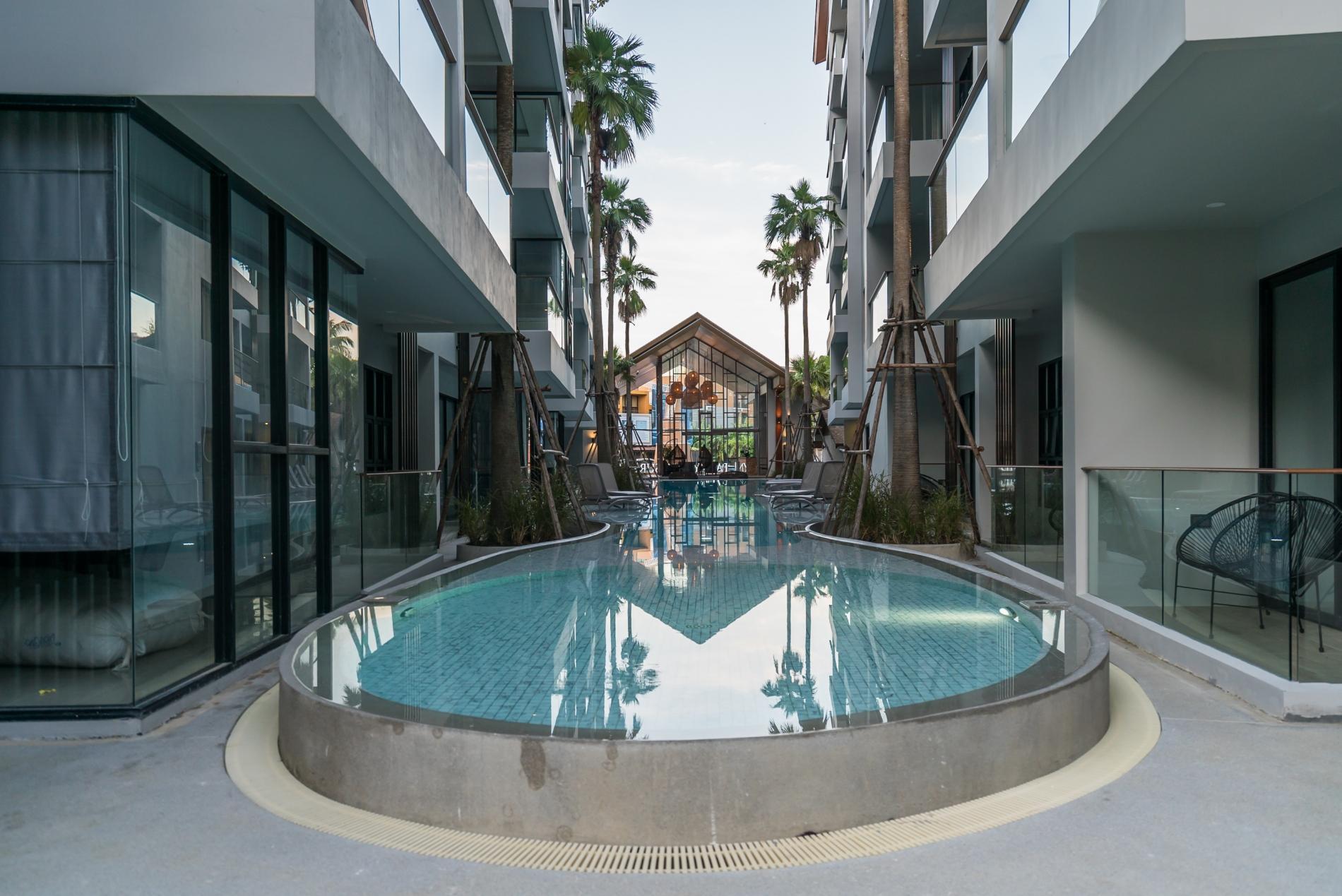 Apartment Palmyrah Surin - 300 meters to the beach    Brand new luxury condo A406 photo 16688284