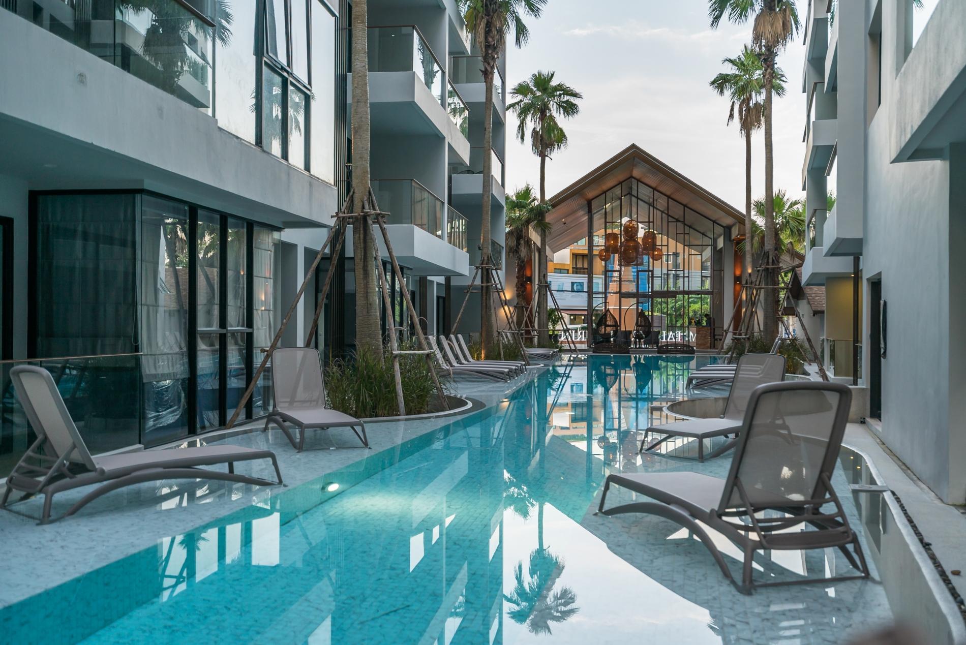 Apartment Palmyrah Surin - 300 meters to the beach    Brand new luxury condo A406 photo 16937165
