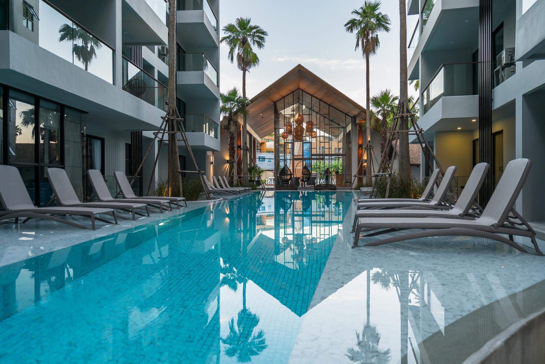 Apartment Palmyrah Surin - 300 meters to the beach    Brand new luxury condo A406 photo 17052697