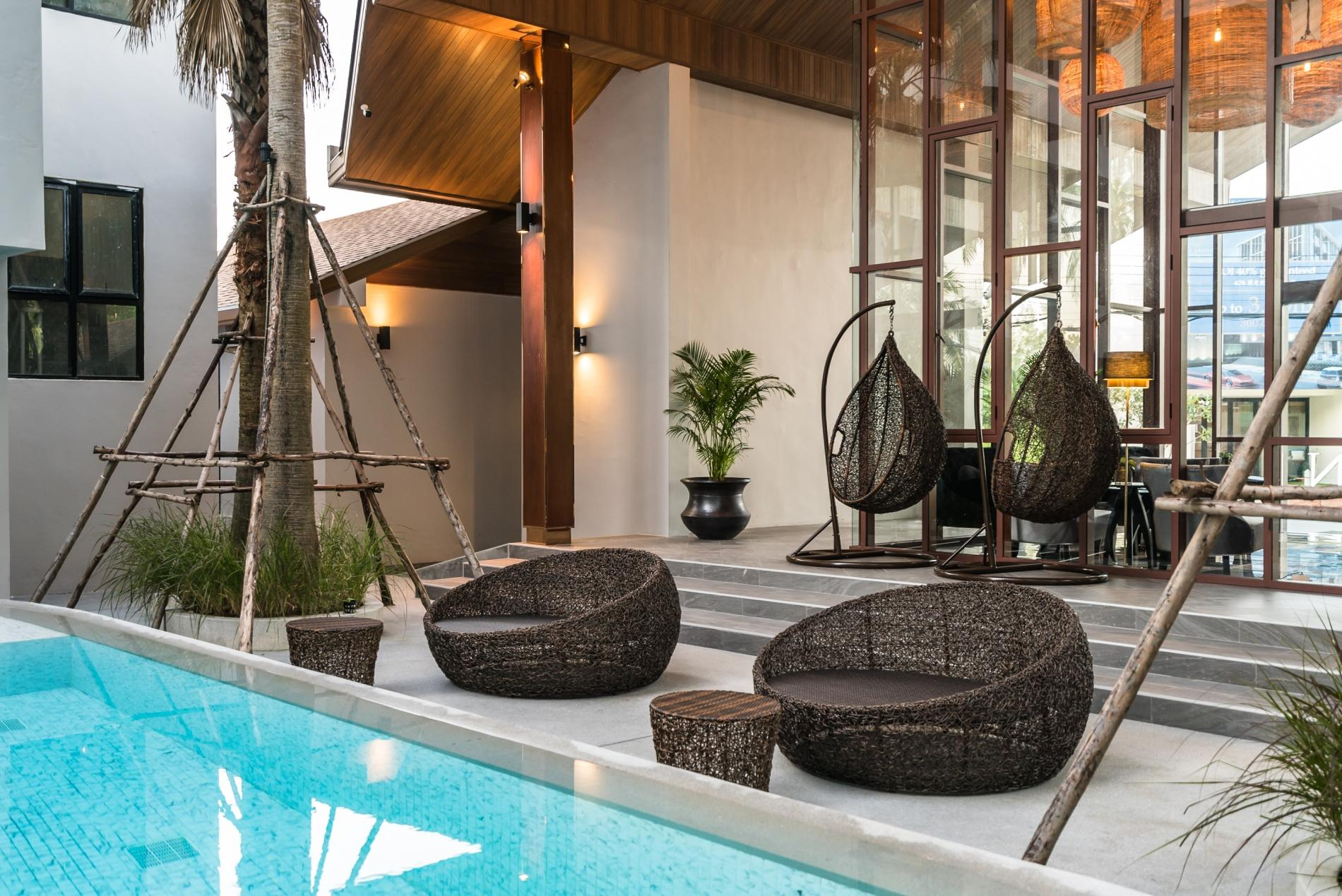 Apartment Palmyrah Surin - 300 meters to the beach    Brand new luxury condo A406 photo 16646869