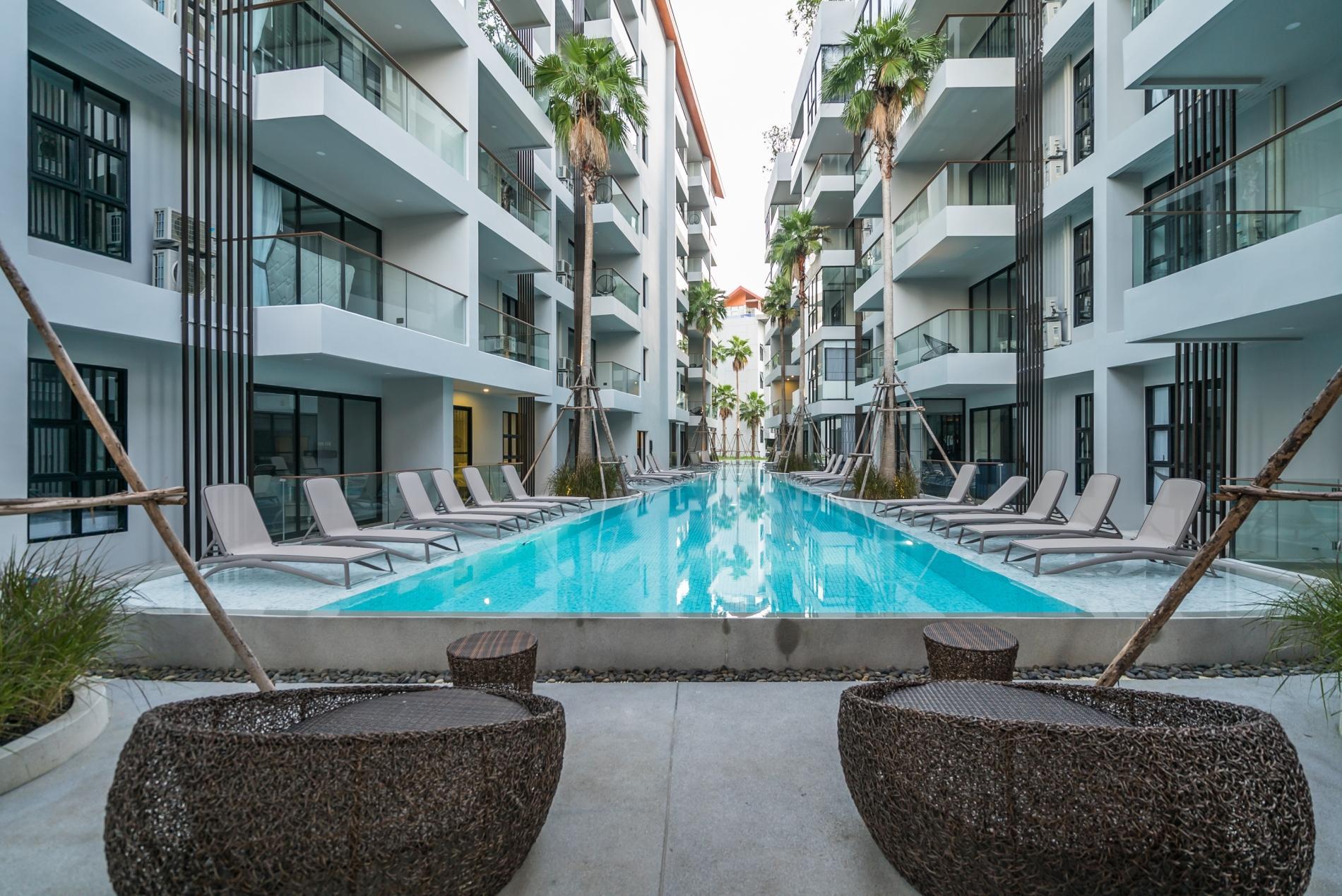Apartment Palmyrah Surin - 700 meters to the beach    Brand new luxury condo A406 photo 20265938