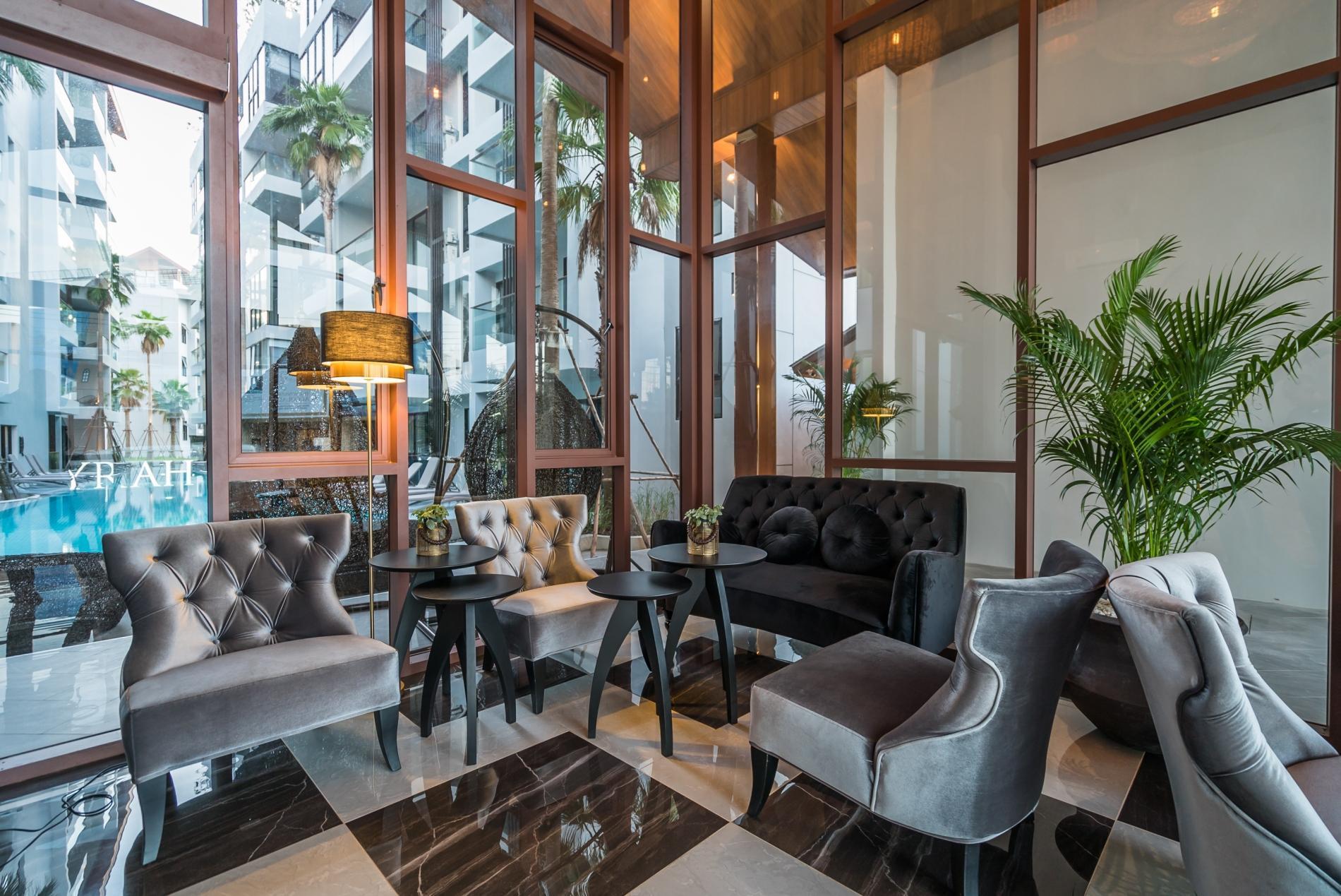 Apartment Palmyrah Surin - 300 meters to the beach    Brand new luxury condo A406 photo 16937185