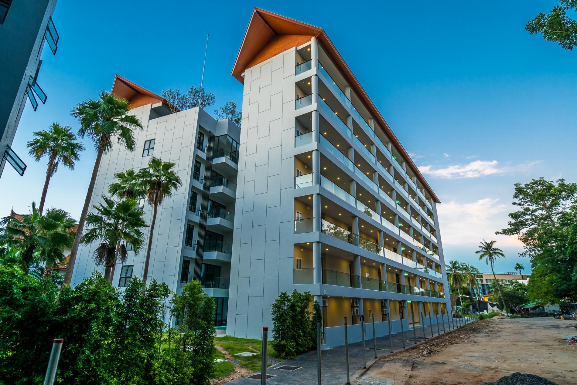 Apartment Palmyrah Surin - 300 meters to the beach    Brand new luxury condo A406 photo 17077078