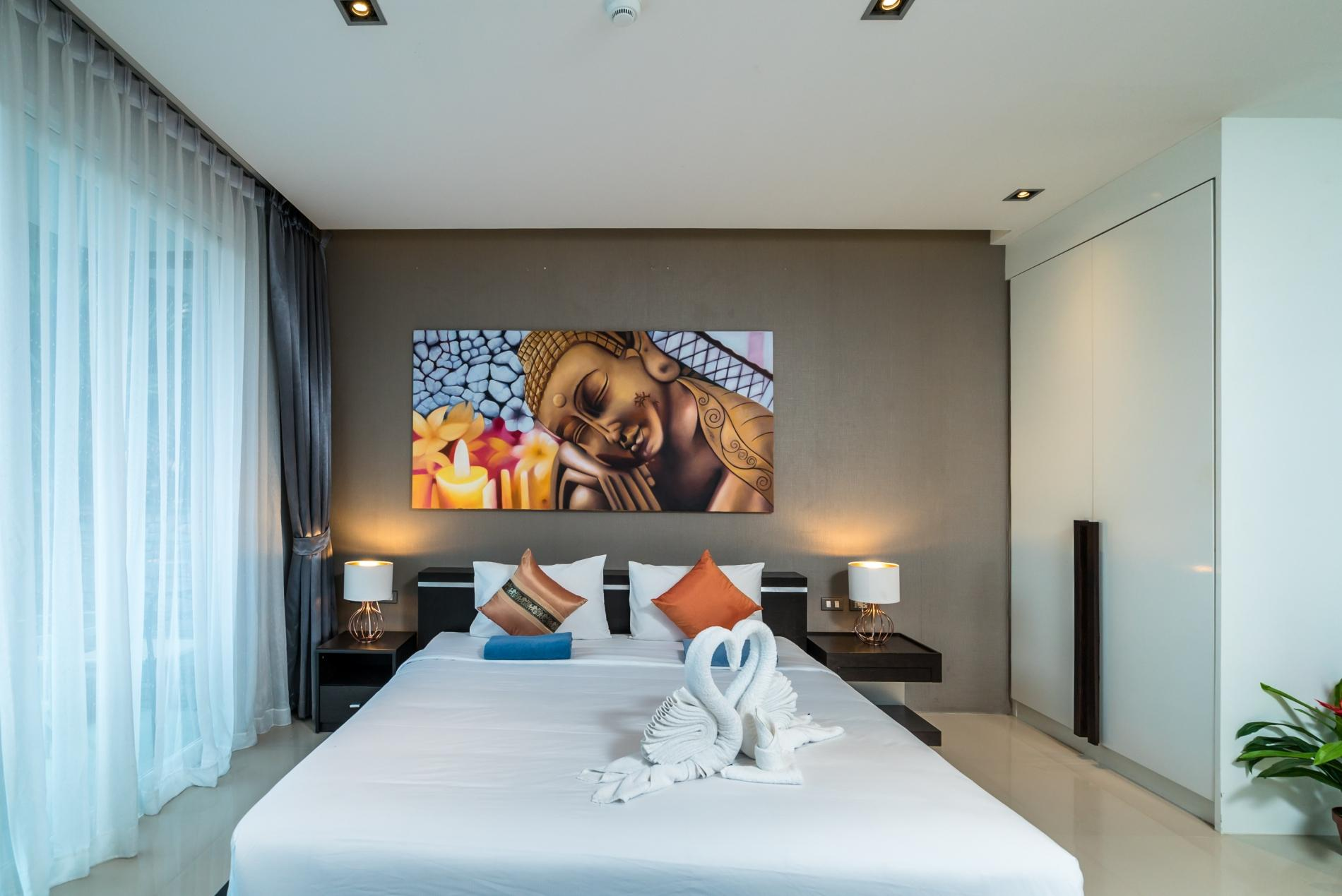 Apartment ET414 - Charming pool view studio  pool and gym in Patong photo 18543907