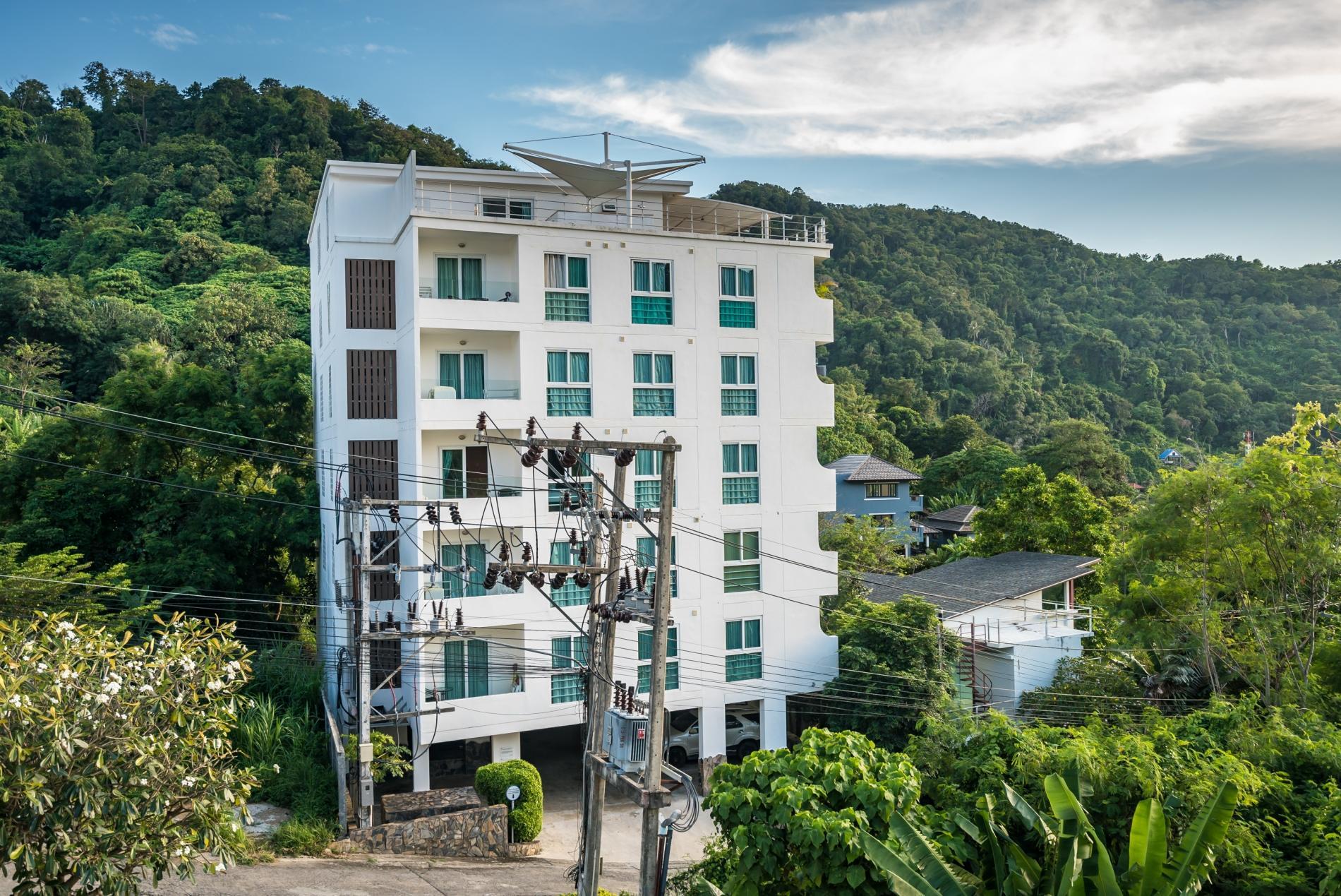 Apartment Kata Ocean View condominium - 1 bdr mountain view apartment photo 20390590