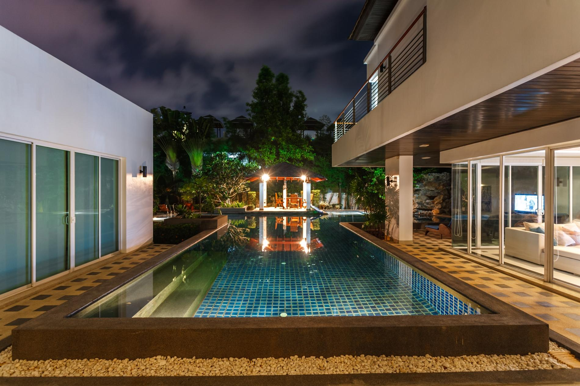 Apartment Kyerra Villa -  Giant private pool in Kamala  pool table  ping pong table  photo 19811130