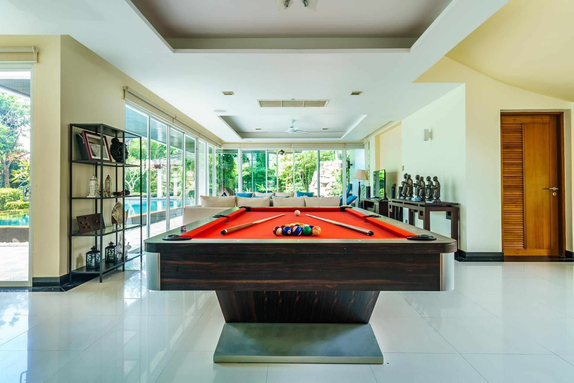 Apartment Kyerra Villa -  Giant private pool in Kamala  pool table  ping pong table  photo 20384589
