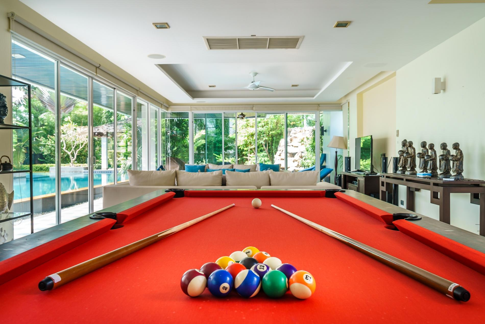 Apartment Kyerra Villa -  Giant private pool in Kamala  pool table  ping pong table  photo 20384591