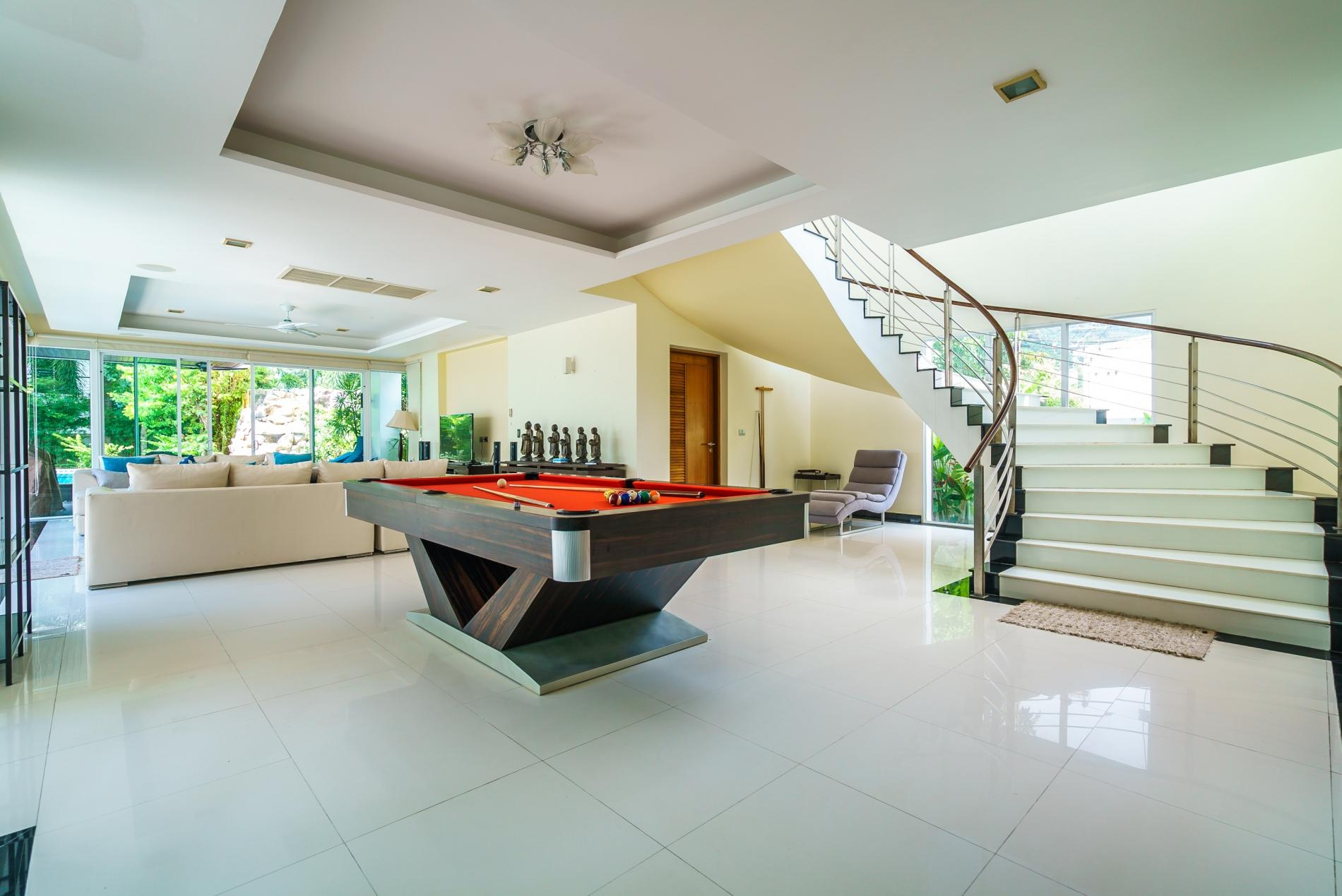 Apartment Kyerra Villa -  Giant private pool in Kamala  pool table  ping pong table  photo 20179559