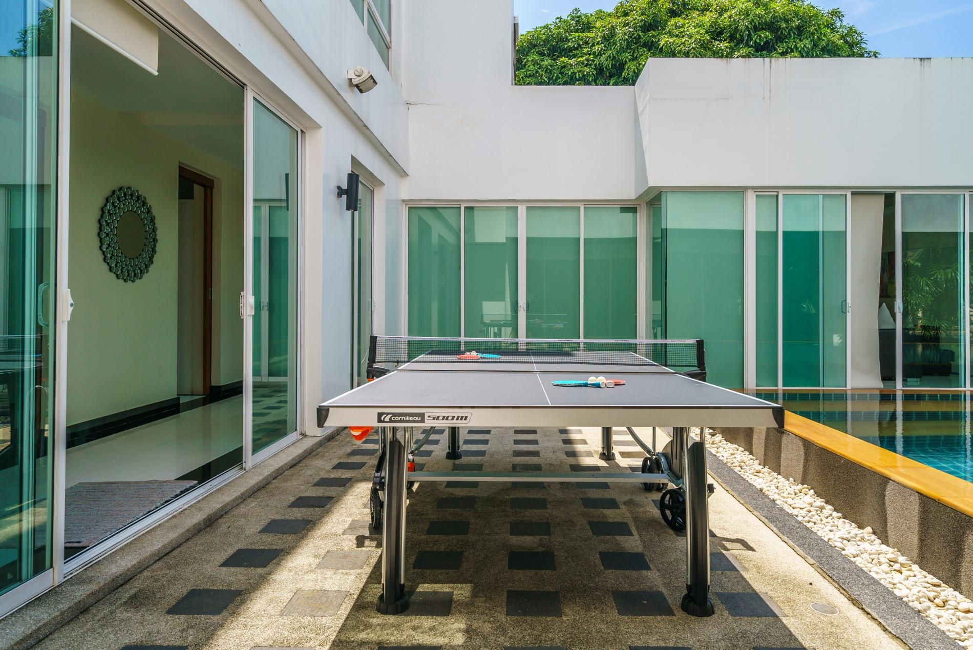 Apartment Kyerra Villa -  Giant private pool in Kamala  pool table  ping pong table  photo 20384625