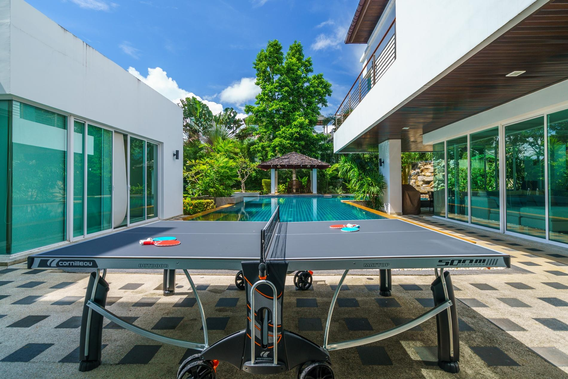 Apartment Kyerra Villa -  Giant private pool in Kamala  pool table  ping pong table  photo 20257439
