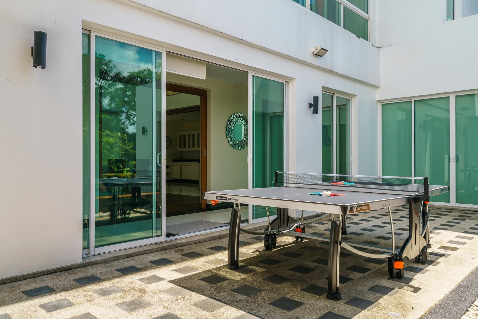 Apartment Kyerra Villa -  Giant private pool in Kamala  pool table  ping pong table  photo 20179593