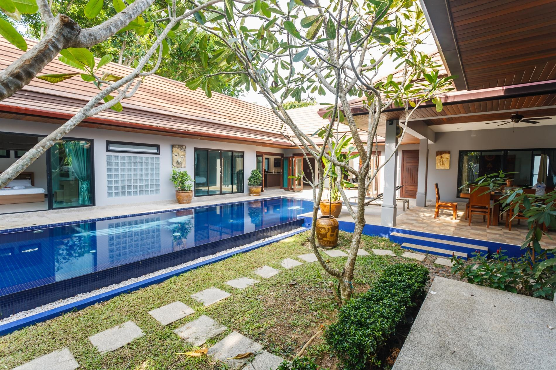 Apartment Frangipani Villa in Nai Harn - 5 bedroom private pool with garden and pizza oven photo 20258406