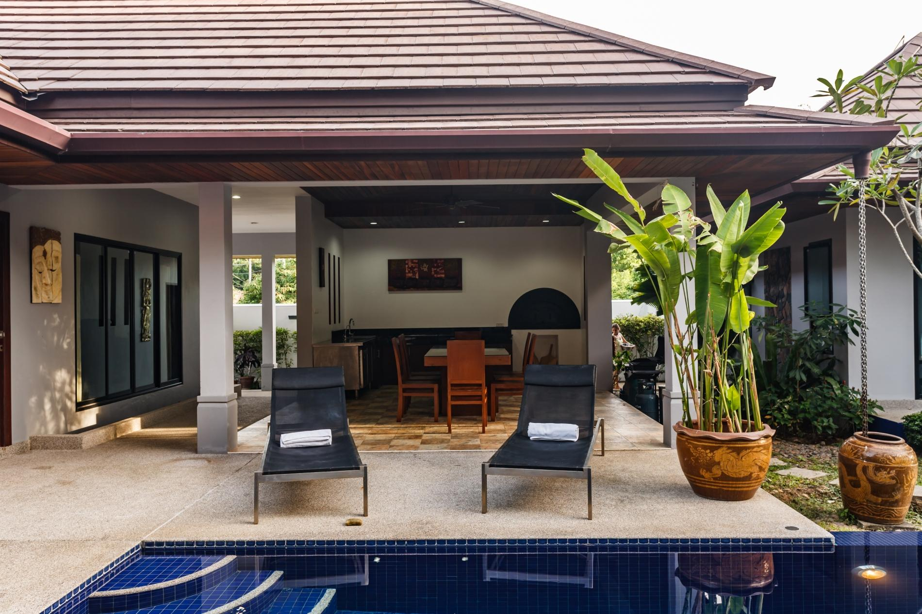Apartment Frangipani Villa in Nai Harn - 5 bedroom private pool with garden and pizza oven photo 20258414