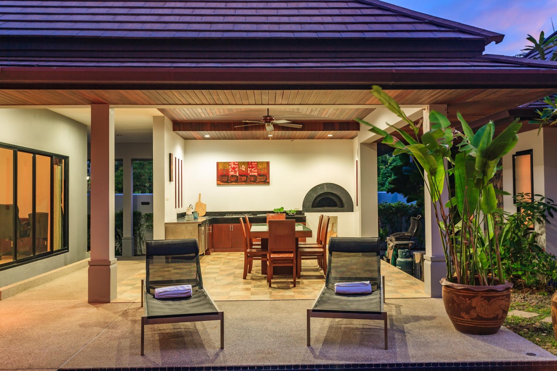 Frangipani Villa in Nai Harn - 5 bedroom private pool with garden and pizza oven photo 20389699
