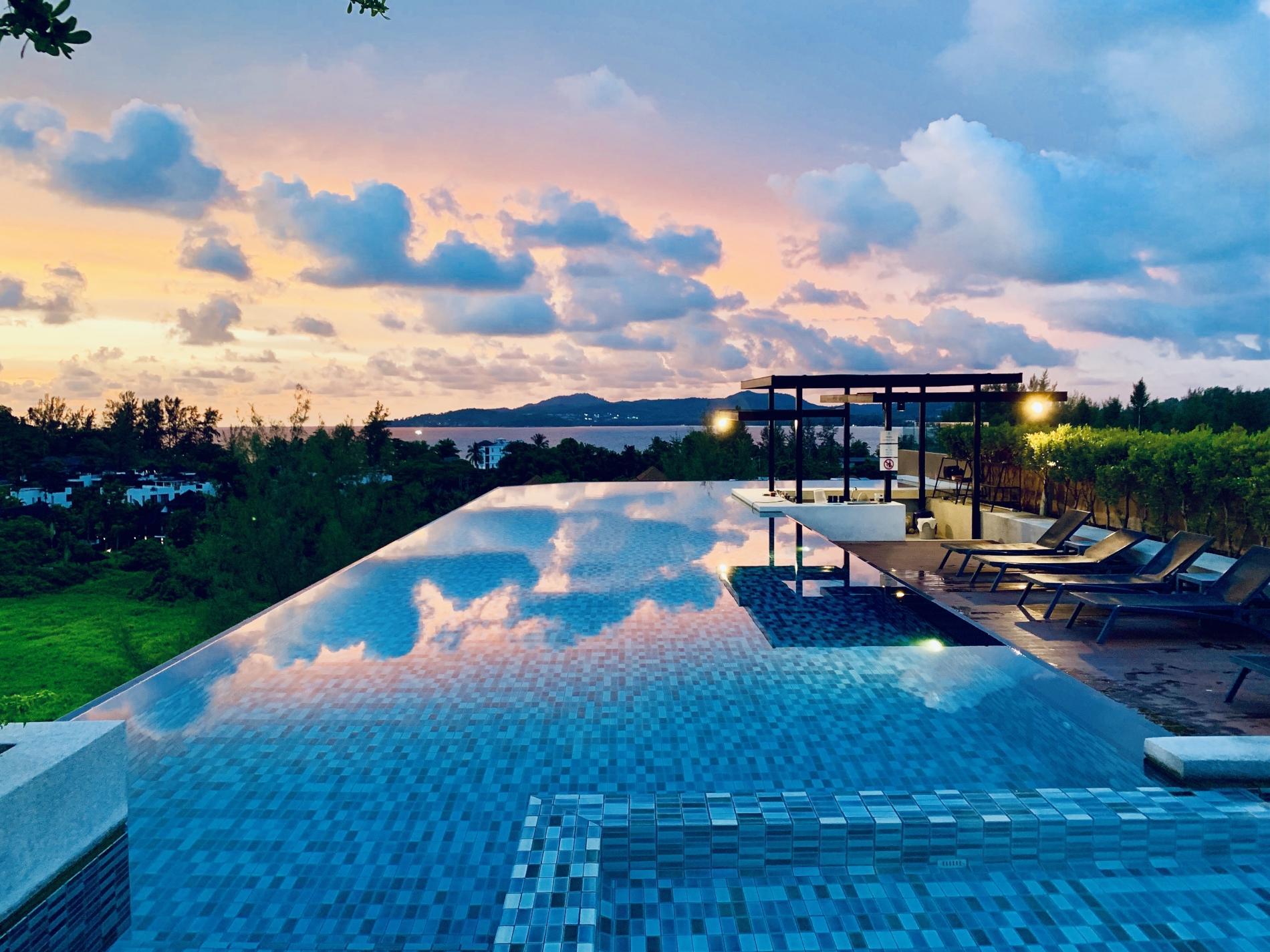 Apartment 6Av 218 - Surin beach studio  pool and gym photo 20395542