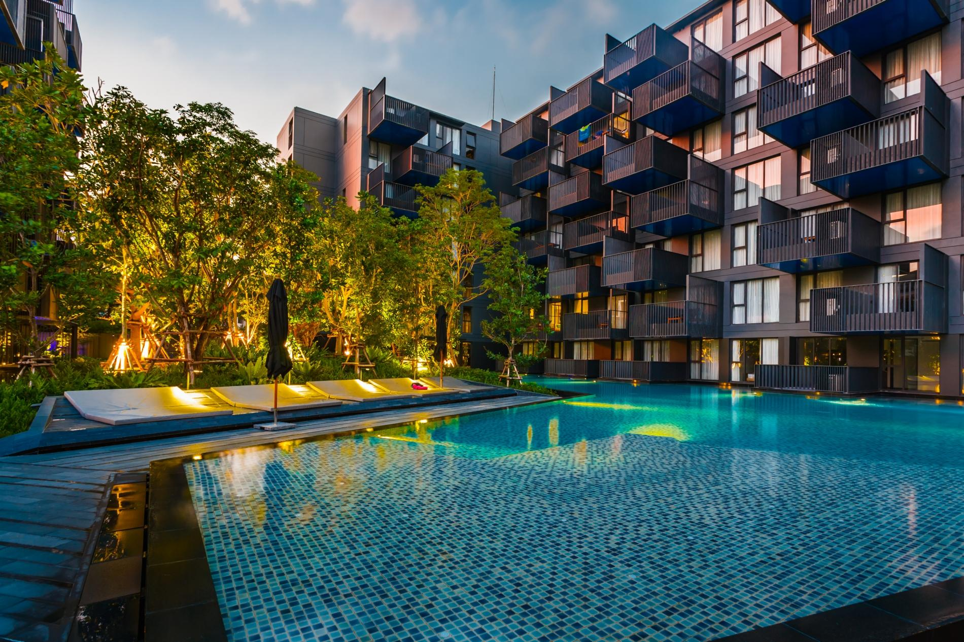 Apartment D48 - Luxury Patong Beach Studio for 2 with Pool   Gym photo 18989136