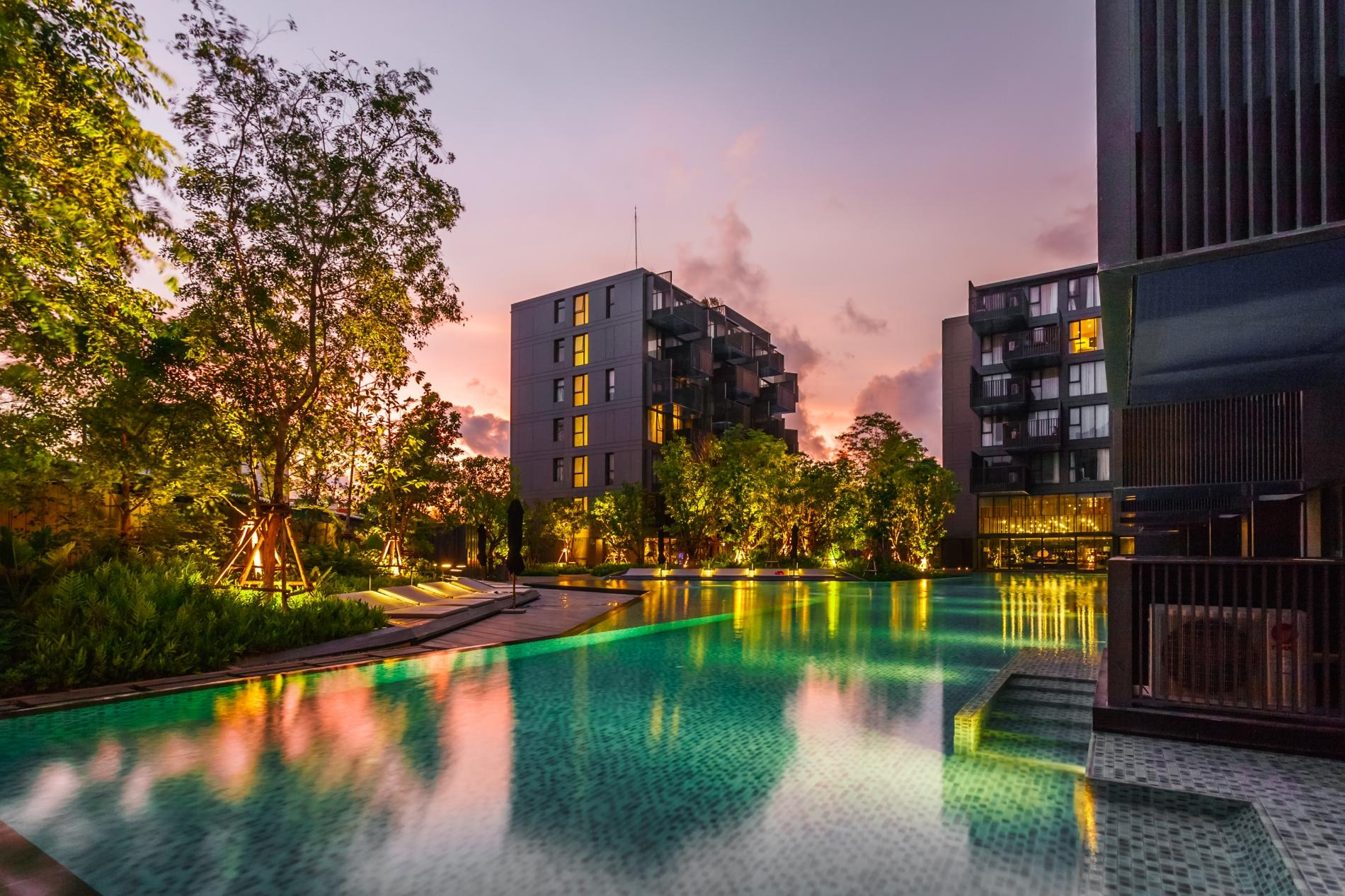 D218 - Luxury Studio for 2 in Patong beach with Pool & Gym! photo 18673148
