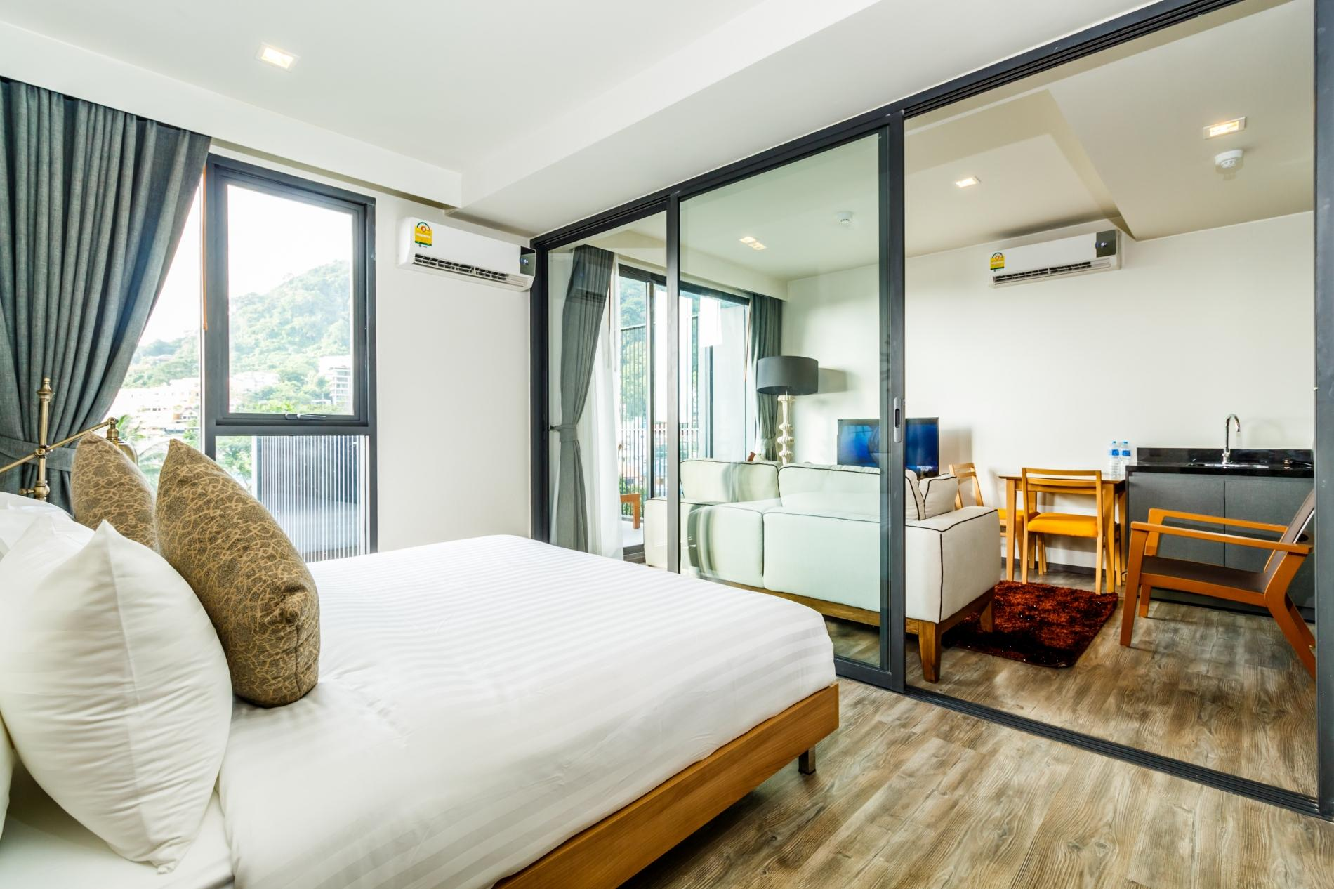 Apartment D252 - Patong sea-view apartment with 2 pools  near beach and nightlife  photo 18545670