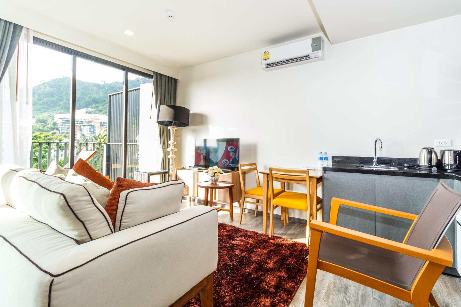 Apartment D252 - Patong sea-view apartment with 2 pools  near beach and nightlife  photo 18132289