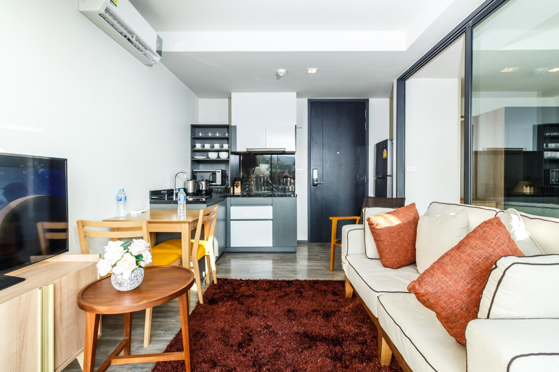 Apartment D252 - Patong sea-view apartment with 2 pools  near beach and nightlife  photo 18564436