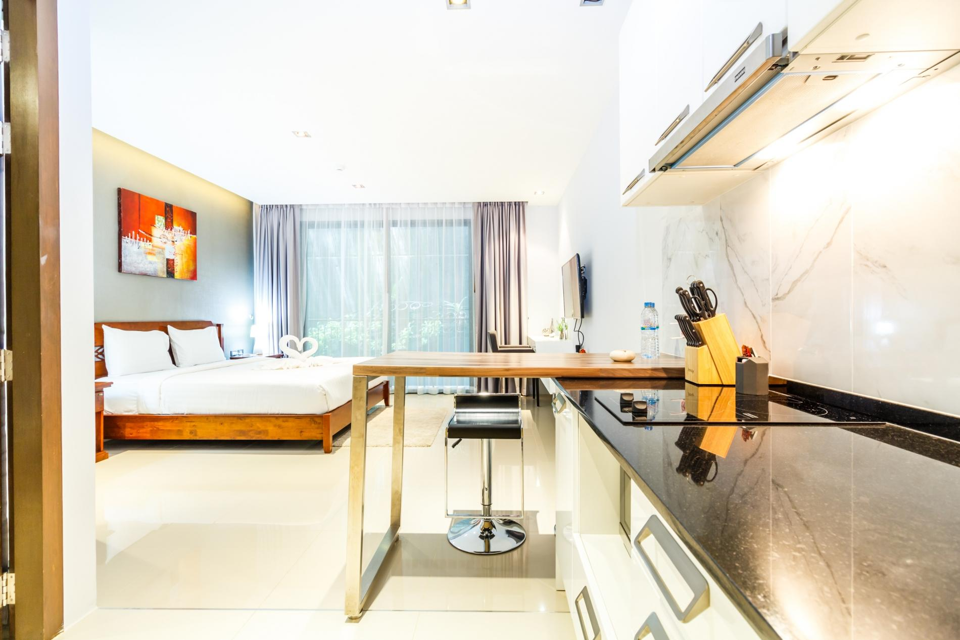ET212A - Studio in Patong with pool and parking photo 18669586