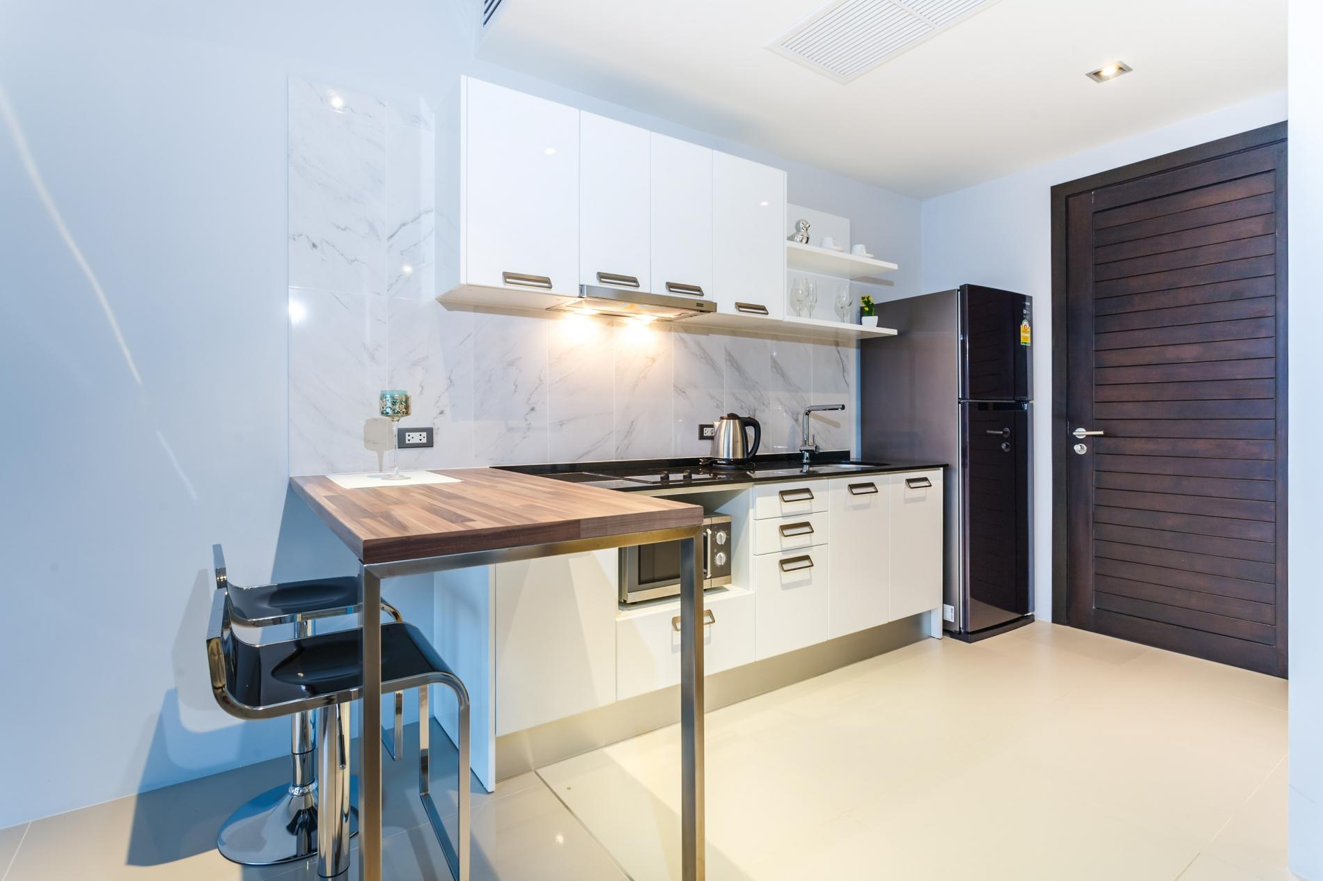 ET503 - Seaview studio in Patong with kitchen, washer, gym and pool photo 16256715