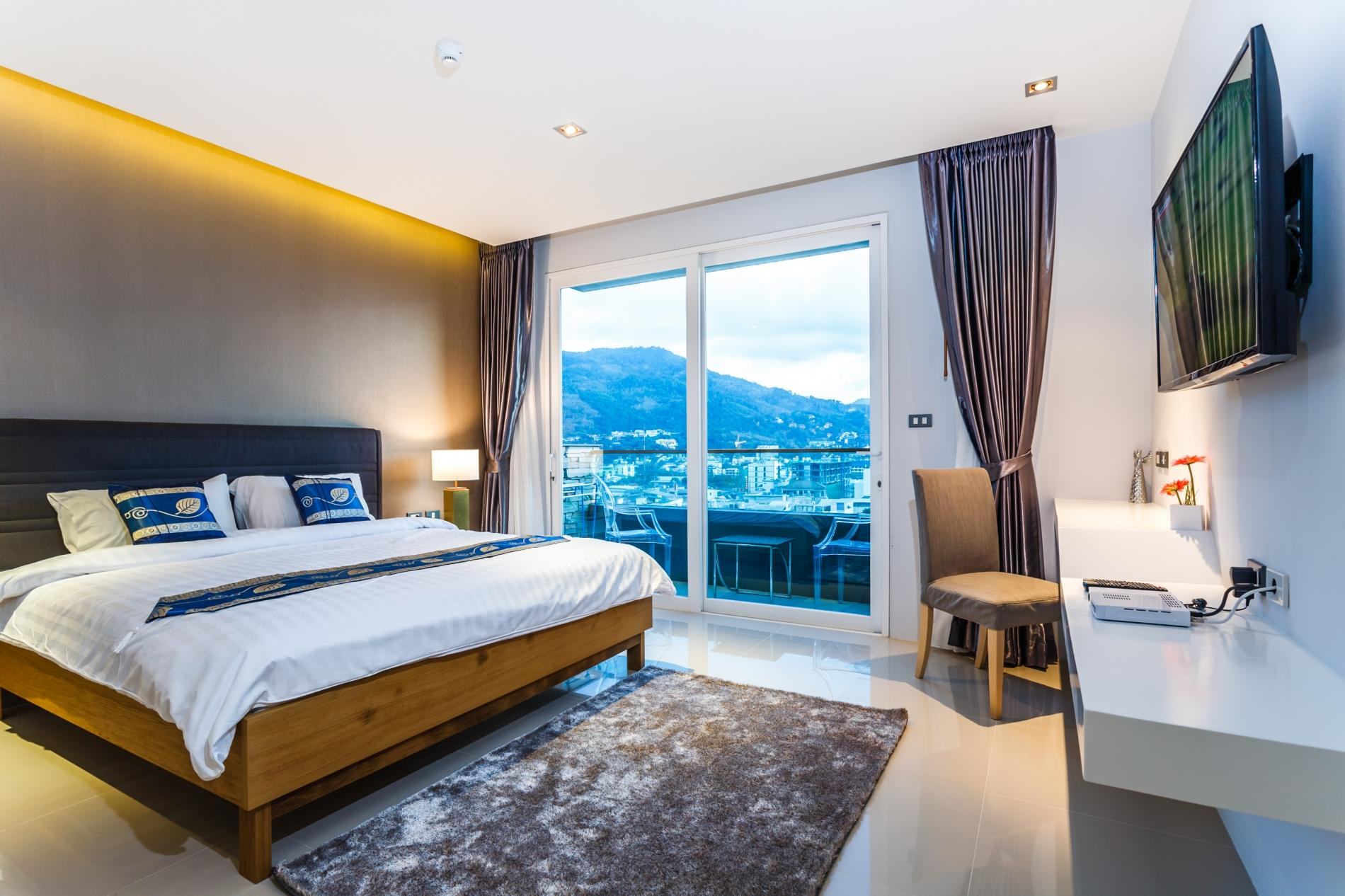 ET503 - Seaview studio in Patong with kitchen, washer, gym and pool photo 16193072