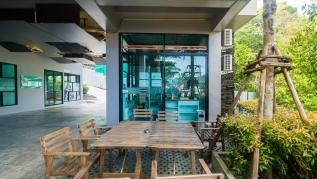 ET503 - Seaview studio in Patong with kitchen, washer, gym and pool