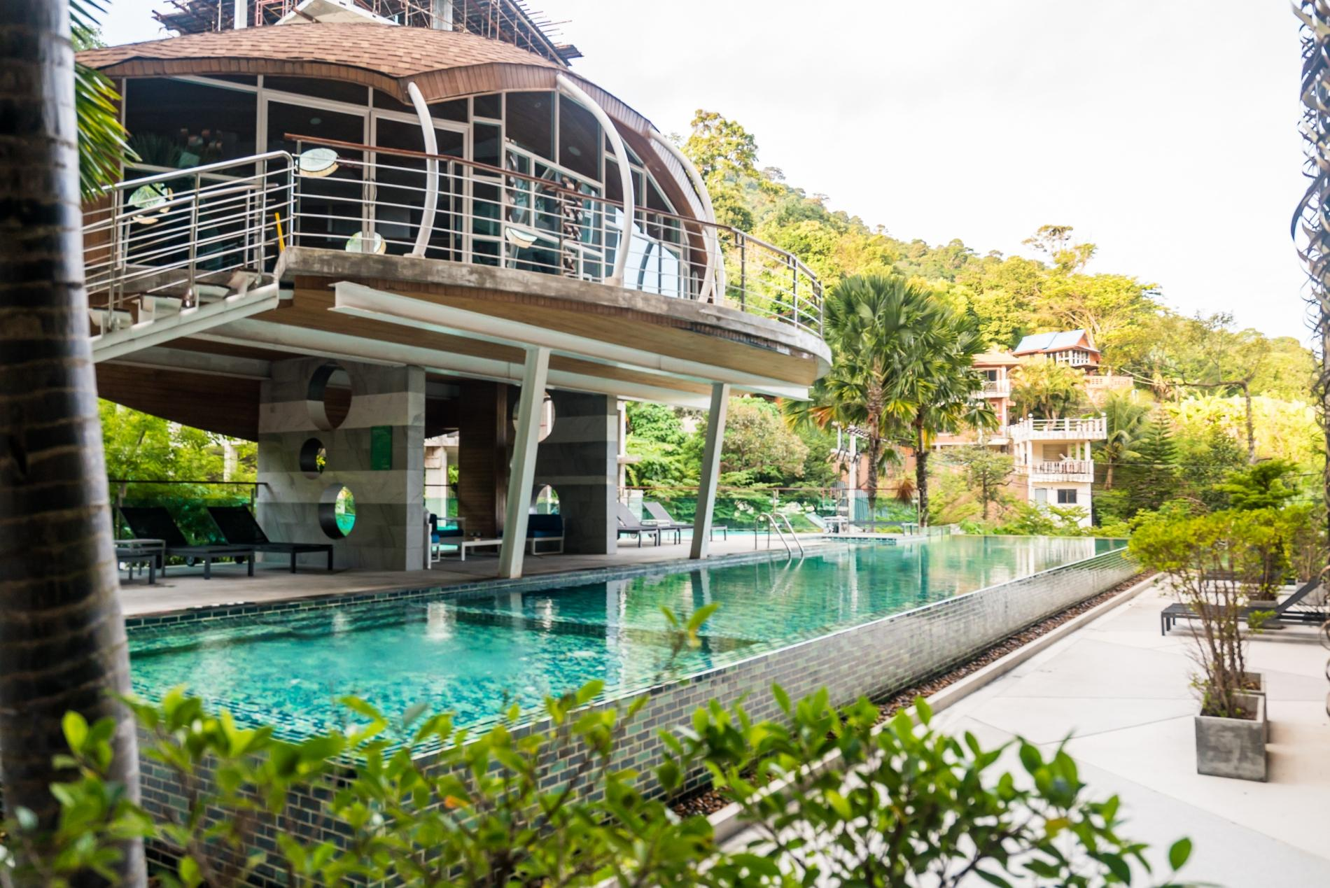 ET503 - Seaview studio in Patong with kitchen, washer, gym and pool photo 16256711