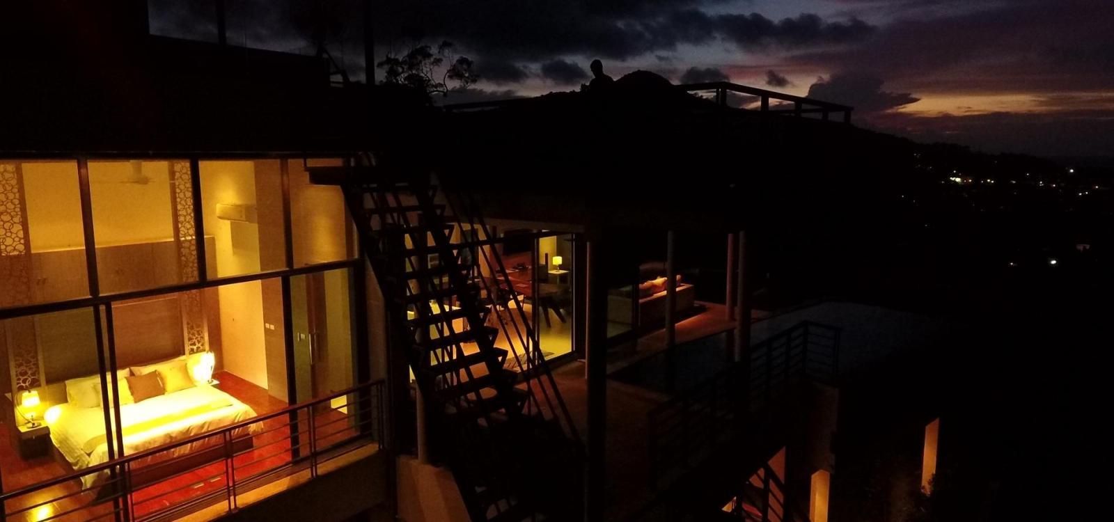 Paradesa - Seaview 3 bedroom private pool villa in Kamala