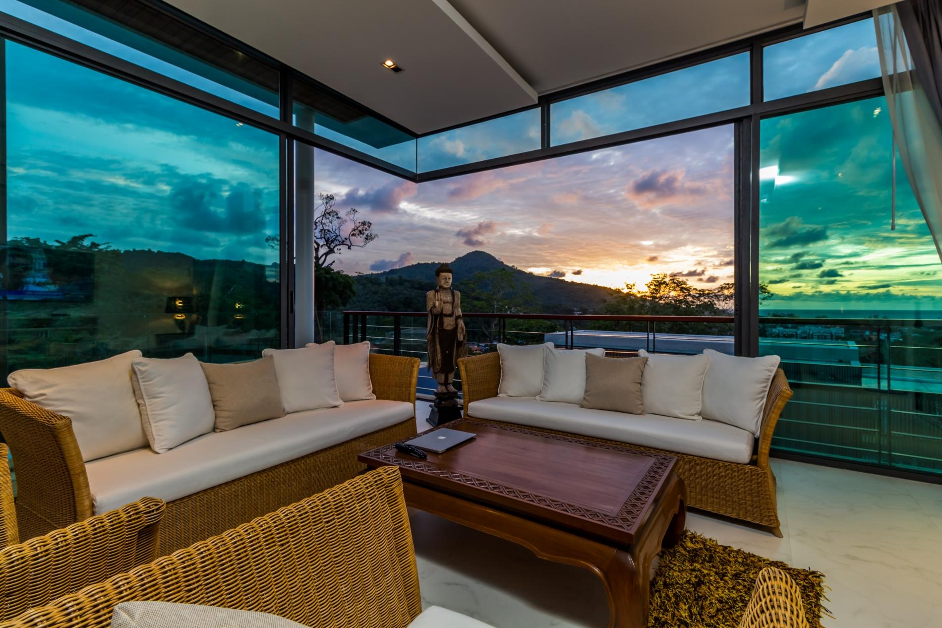 Kamala Sea View villa with private pool and rooftop jacuzzi photo 15928646