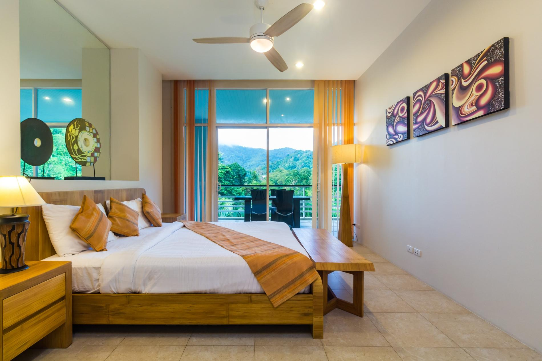 KH2604 - Mountain view apartment for 4 in Karon, 650 meters to beach photo 20384280