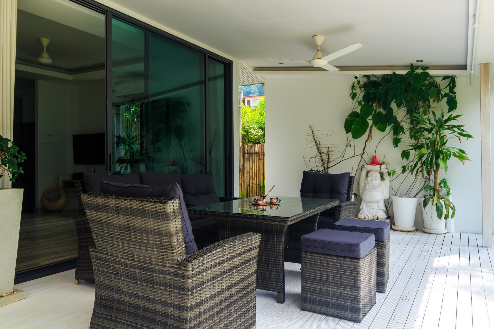Apartment Beachfront villa  perfect family holidays on Ao Yon beach photo 20179380