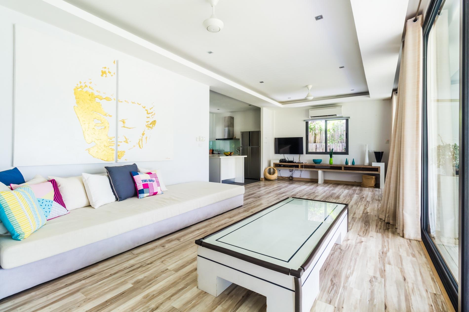 Beachfront villa, perfect family holidays on Ao Yon beach photo 20305579