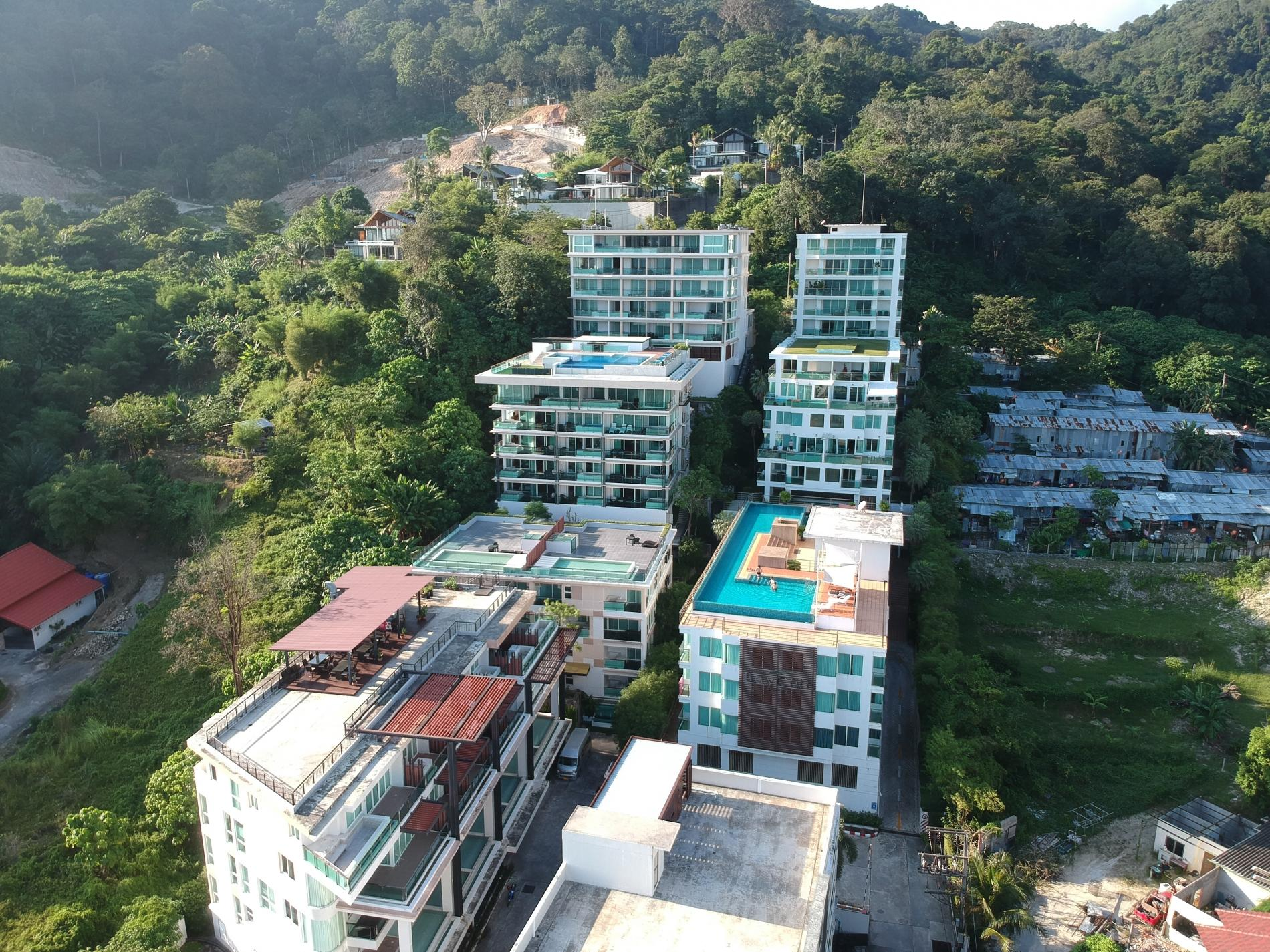 Apartment Privilege12 - Seaview 3 bedroom luxury apartment on Kalim bay photo 18443756